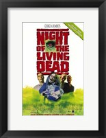 Framed Night of the Living Dead By Romero