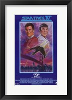 Framed Star Trek 4: The Voyage Home (Video Cassette Release)