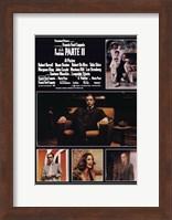 Framed Godfather Part 2 Italian