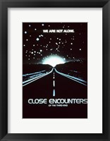 Framed Close Encounters of the Third Kind We are Not Alone.