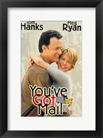 Framed You've Got Mail - hugging