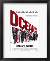 Framed Ocean's Twelve Cast