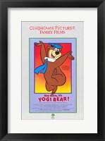 Framed Hey There It's Yogi Bear