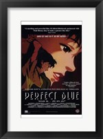 Framed Perfect Blue