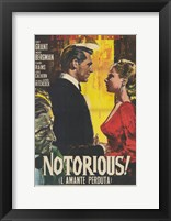 Framed Notorious Vintage