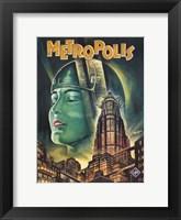 Framed Metropolis Green