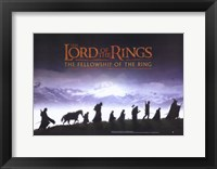 Framed Lord of the Rings: The Fellowship of the Ring - style I