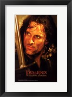 Framed Lord of the Rings: Fellowship of the Ring Boromir
