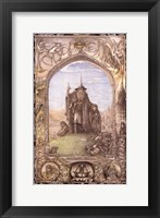 Framed Lord of the Rings, animated - style D