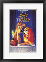 Framed Lady and the Tramp Disney Classic