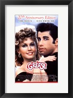 Framed Grease 20th Anniversary on Videocassette
