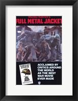Framed Full Metal Jacket Best Ware Movie Ever