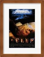 Framed Mary Shelley's Frankenstein