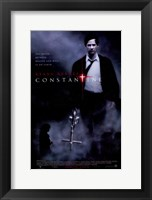 Framed Constantine - carrying a cross