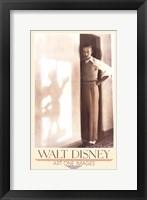 Framed Walt Disney - Gallery Print
