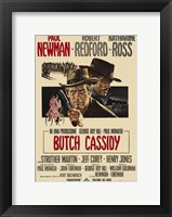 Framed Butch Cassidy and the Sundance Kid Paul Newman