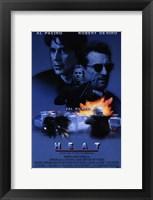 Framed Heat Al Pacino & Robert De Niro