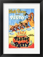 Framed Pluto's Party
