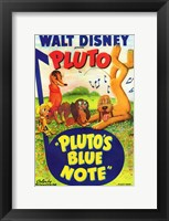 Framed Pluto's Blue Note