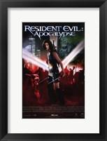Framed Resident Evil: Apocalypse