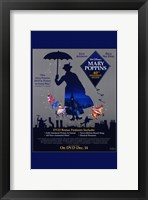 Framed Mary Poppins Cast