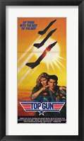 Framed Top Gun 3 Jets and LT Pete & Charlie