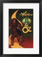 Framed Wizard of Oz Cowardly Lion