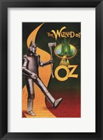Framed Wizard of Oz Tin Man