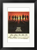 Framed Wild Bunch - movie