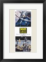 Framed 2001: a Space Odyssey Tall