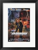 Framed Avengers Uma Thurman