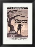 Framed Legend of Bigfoot