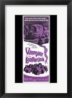 Framed Vampire and the Ballerina (black background)
