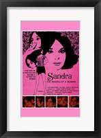 Framed Sandra