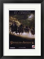 Framed Lord of the Rings: Fellowship of the Ring Battling