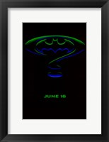 Framed Batman Forever Logo