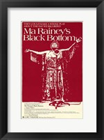 Framed Ma Rainey's Black Bottom (Broadway Play)