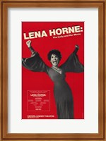 Framed Lena Horne - the Lady and Her Music (Bro