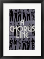 Framed Chorus Line  (Broadway Musical)