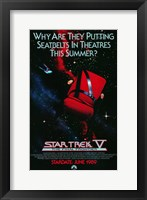 Framed Star Trek 5: The Final Frontier (teaser)