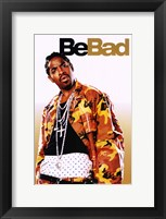 Be Cool - Be Bad Framed Print