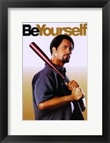 Be Cool - Be Yourself Framed Print