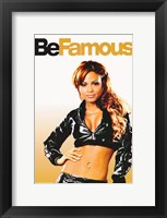 Framed Be Cool - Be Famous