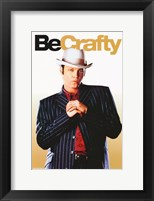 Be Cool - Be Crafty Framed Print
