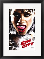 Framed Sin City Roasario Dawson as Gail Close Up