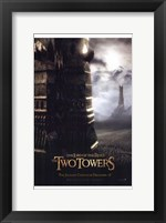 Framed Lord of the Rings Towers