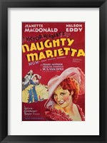 Framed Naughty Marietta