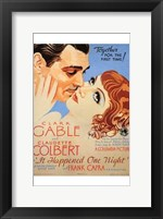 Framed it Happened One Night