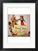 Framed Quiet Man Cast O'Hara and Wayne