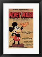 Framed Mickey Mouse - Sound Cartoon